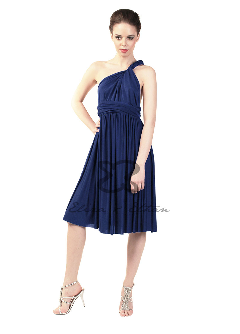 Angel Eliza and Ethan Wrap Dress Dress Style Midnight 0